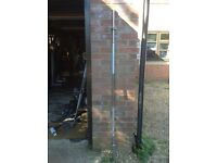 2 x 6ft Standard Solid Barbell with Spinlocks