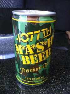 M*A*S*H* Beer Can - Collector's Piece
