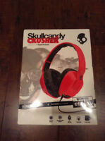 Skullcandy Crusher headphones - brand new sealed box