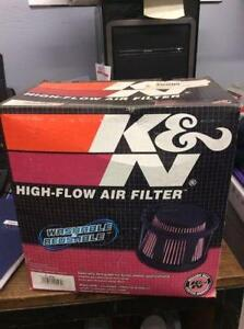 K&N HIGH-FLOW AIR FILTER    CHEV / SIERRA  6.6L V8 05-09
