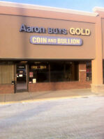 Aaron Buys Gold is Edmonton's #1 Gold and Silver Bullion Dealer