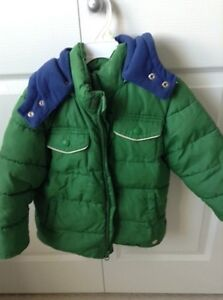 3T green winter jacket