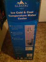 Glacial Ice Cold and Cool Water cooler
