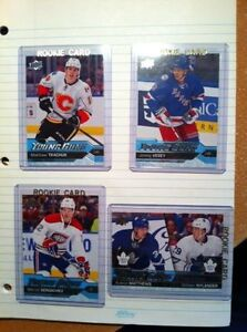 ***2016/17 UD Young Guns series1, all 6 cards for $55.00***
