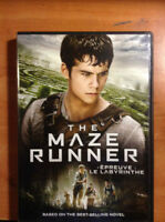 The Maze Runner DVD + In-Games Extras