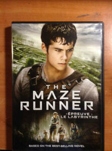 BRAND NEW The Maze Runner DVD + In-Games Extras