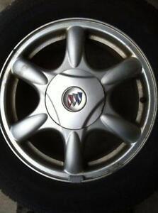"4 - Buick Regal 16"" (5X115) Alloy Rims with Center Caps"