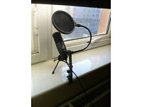Great quality AKG 120 condenser usb microphone used 4 times like new