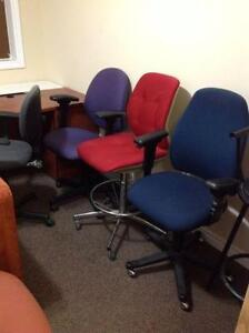 Lots of OFFICE CHAIRS