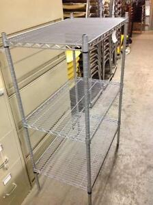 SOLID METAL ADJUSTABLE BAKERS RACK
