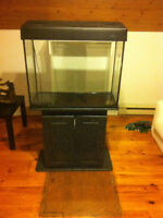 FISH TANK WITH STAND and MANY ACCESSARIES