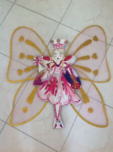 Fairy Wall Art for Girl's Room decor, plus dress up wings