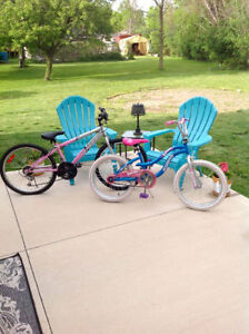 2 Girls Bikes, Excellent Condition, 20 inch and 24 inch