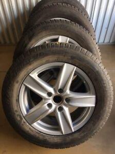 Porsche Cayenne OEM Rims & Winter Tires