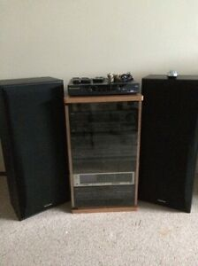 Complete TECHNICS stereo package