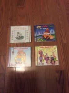 Lots of Kids/Toddler/Baby Music Cd's for Sale