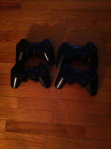 PS3 Controllers Sixaxis 30$ each Xbox 360 Controller wireless