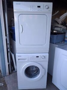 """Free delivery! 24"""" stackable Samsung washer and dryer"""