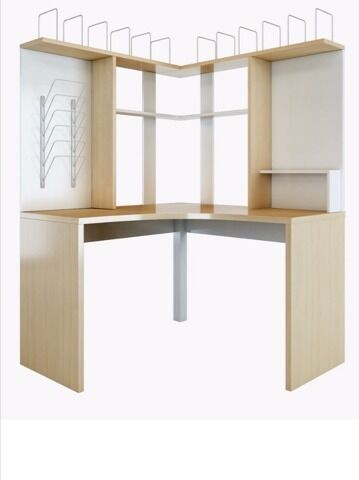 ikea mikael corner desk workstation in stevenage hertfordshire gumtree. Black Bedroom Furniture Sets. Home Design Ideas