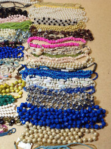 60 plus necklaces - bead, pearl, she'll, jade, glass Cambridge Kitchener Area image 4