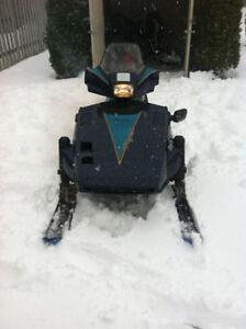 Yamaha Phazer II snowmobile