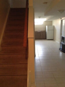 1 Bedroom Basement studio apartment available starting Oct 1st