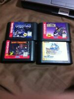 Gargoyles batman & robin rocket knight light crusader genesis!!