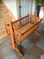 antique style Cradle