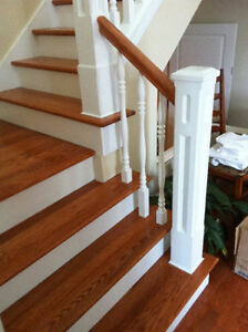 Hardwood, Laminate Flooring & Stair Installations Kitchener / Waterloo Kitchener Area image 9