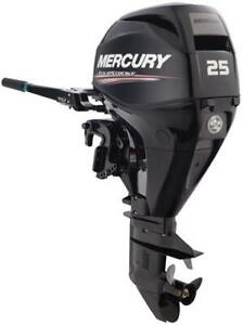 Clearance Special - 1 only left: New 2018 Mercury 25 ELH 4-S