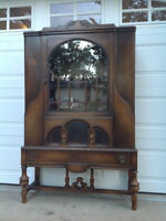 Antique China Cabinet $350.00