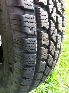 """Winter tires 15"""" """"Artic Claw"""" (studdable) Strathcona County Edmonton Area image 1"""