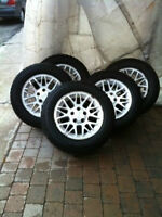 *** Grand Cherokee 5x 17 Inch Mags With Winter Tires ***