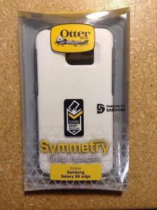 In the box Samsung S6 edge symmetry series otterbox case