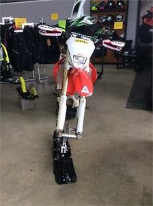2009 Honda CRF250X with Tracks