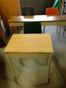 $20 USED SCHOOL DESKS FOR SALE