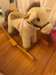 Pottery Barn Kids Rocking Horse Excellent Condition!