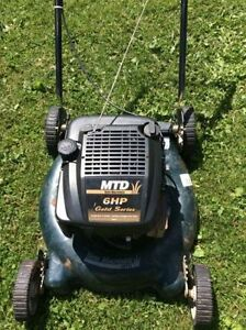MTD 6HP LAWN MOWER (NEEDS REPAIR)