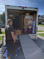 TJ's Moving, ( 210 for 3 hours, includes 2 men! ) 226 700 6238