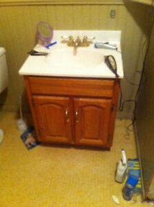 "24"" BATHROOM VANITY NEED GONE ASAP!"