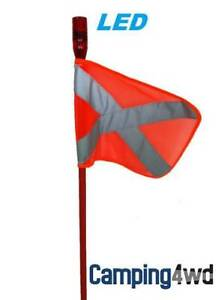 Sand Flag 1.2m $80 1.8m $95 2.4m $115 4WD Camping