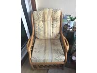 Cane furniture set