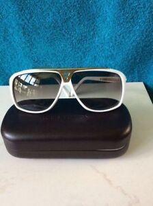 Louis Vuitton Evidence Millionare White Gold Sunglasses