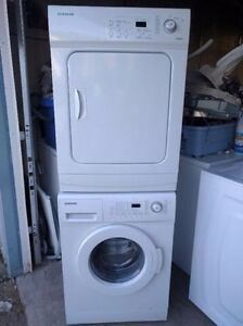 Free delivery! Mini Samsung stackable washer dryer