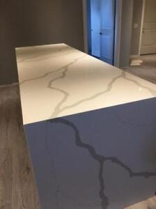 Quartz countertop starts from $38/sqft on most popular colors.