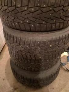 ***Studded*** hakkapeliita 7 ice tires. 195/65/R15