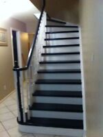 Special offer on Stairs and refinishing of floors