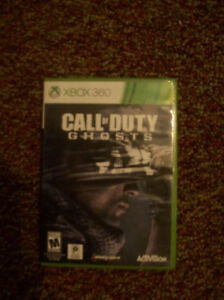 Call of Duty Ghosts (never used)