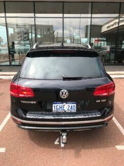2016 Volkswagen Touareg 7P MY16 V8 TDI Tiptronic 4MOTION R-Line Black 8 Speed Sports Automatic Wagon