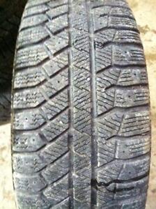 "4 Corolla 15"" 4 Bolt Steel Rims (4X100)&Continental Winter Tires"